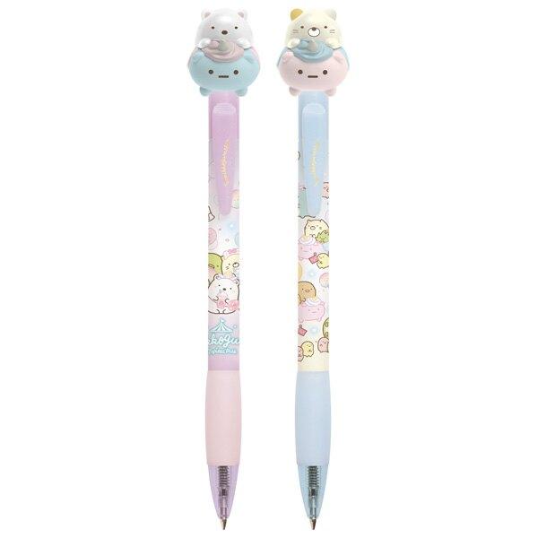 【角落生物 原子筆】角落生物 限定款 原子筆 0.7mm 文具 附可愛筆帽 彩色粉圓遊樂園 小夥伴 日本正版 該該貝比日本精品