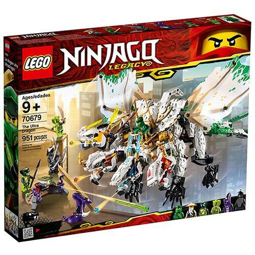 樂高LEGO 70679  NINJAGO 旋風忍者系列 -超級巨龍 - 限時優惠好康折扣