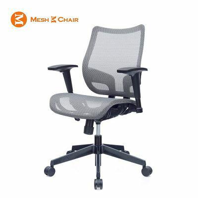 恰恰-網椅 電腦椅 人體工學椅 辦公椅  (冰礦銀)