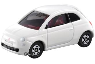 《 TOMICA 火柴盒小汽車 》TM090 FIAT 500