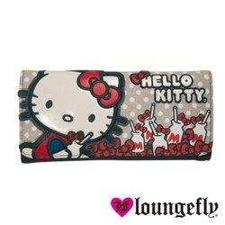 【Loungefly】Hello Kitty聯名款長夾-牛奶LFSANWA0446《品文創》
