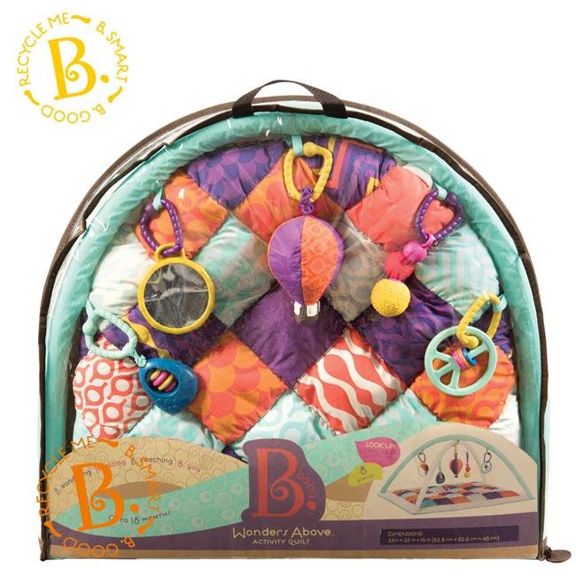 【美國 B.TOYS】熱氣球健力墊 - 限時優惠好康折扣