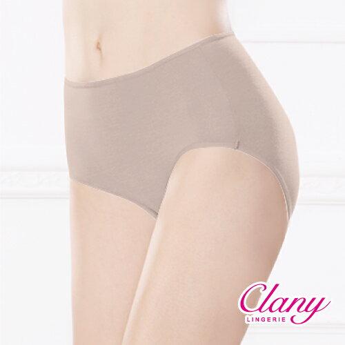 【可蘭霓Clany】天然健康絲蛋白M-XL中腰褲 群青藍 2152-57 9