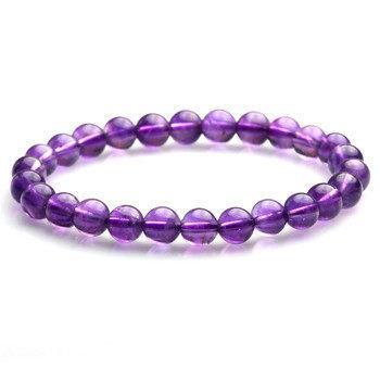 高檔紫水晶手鏈 時尚女款(特價)