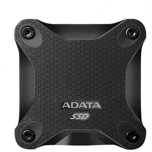 ADATA Durable SD600 3D NAND USB 3.1 External SSD 512GB Black (ASD600-512GU31-CBK) 0