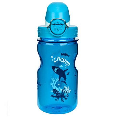 【鄉野情戶外專業】 Nalgene  美國   OTF 兒童水壺 / 耐熱水瓶 BPA Free 375ml /灰藍_1263-0002