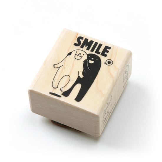 笑一個嘛 ~ 楓木印章 1
