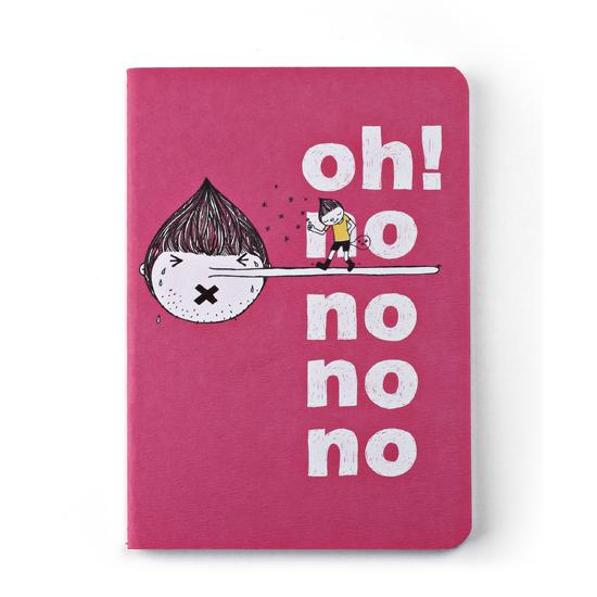 插畫筆記本/oh!no!no!no! 0