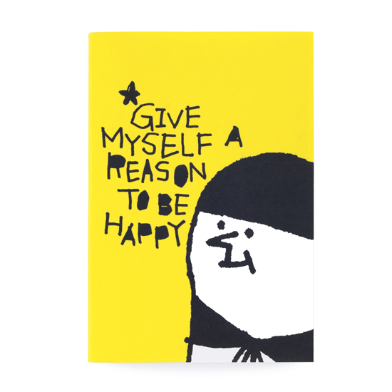 輕-筆記本/快樂的理由!黃色款 0
