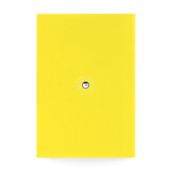 輕-筆記本/快樂的理由!黃色款 1
