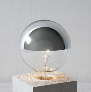 上半銀燈泡 g95/60w/110v
