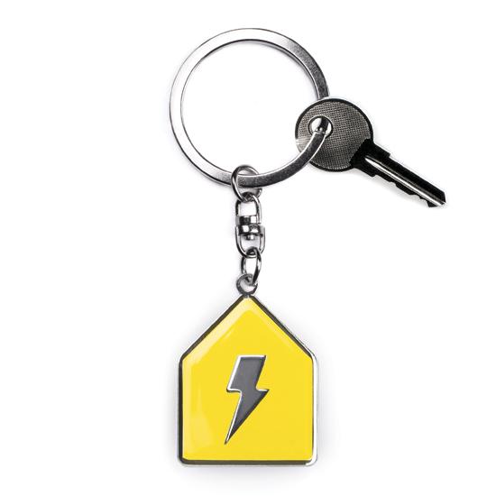 給你百分百力量/陽光黃/鑰匙圈 1