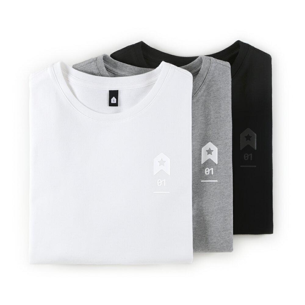插畫T/發射!高品質棉T系列(白/麻灰/黑色款) 0