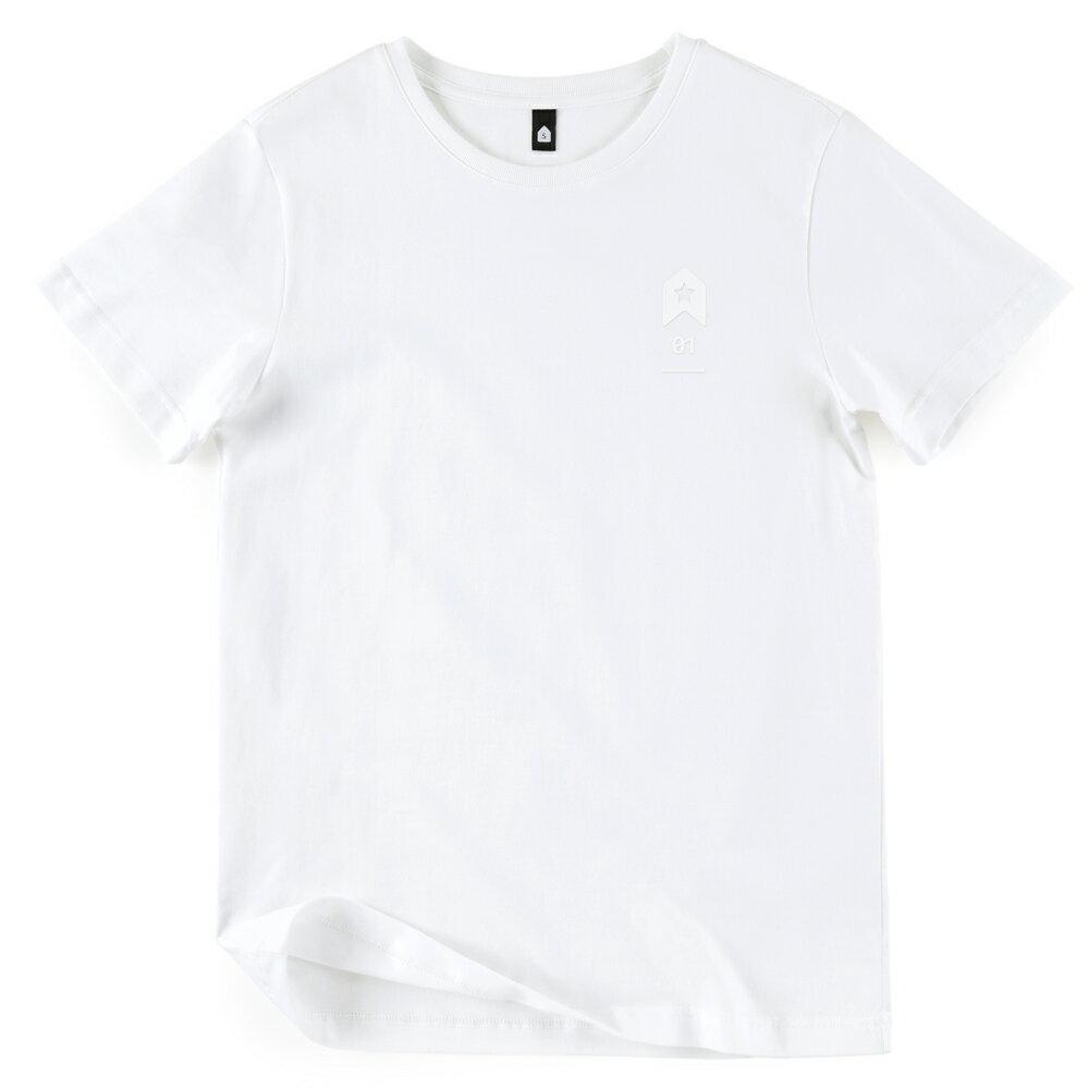 插畫T/發射!高品質棉T系列(白/麻灰/黑色款) 1