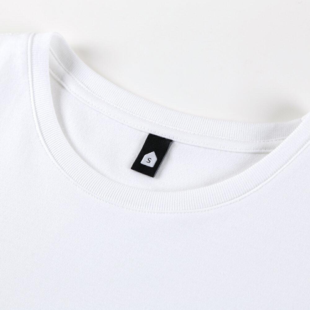插畫T/發射!高品質棉T系列(白/麻灰/黑色款) 7