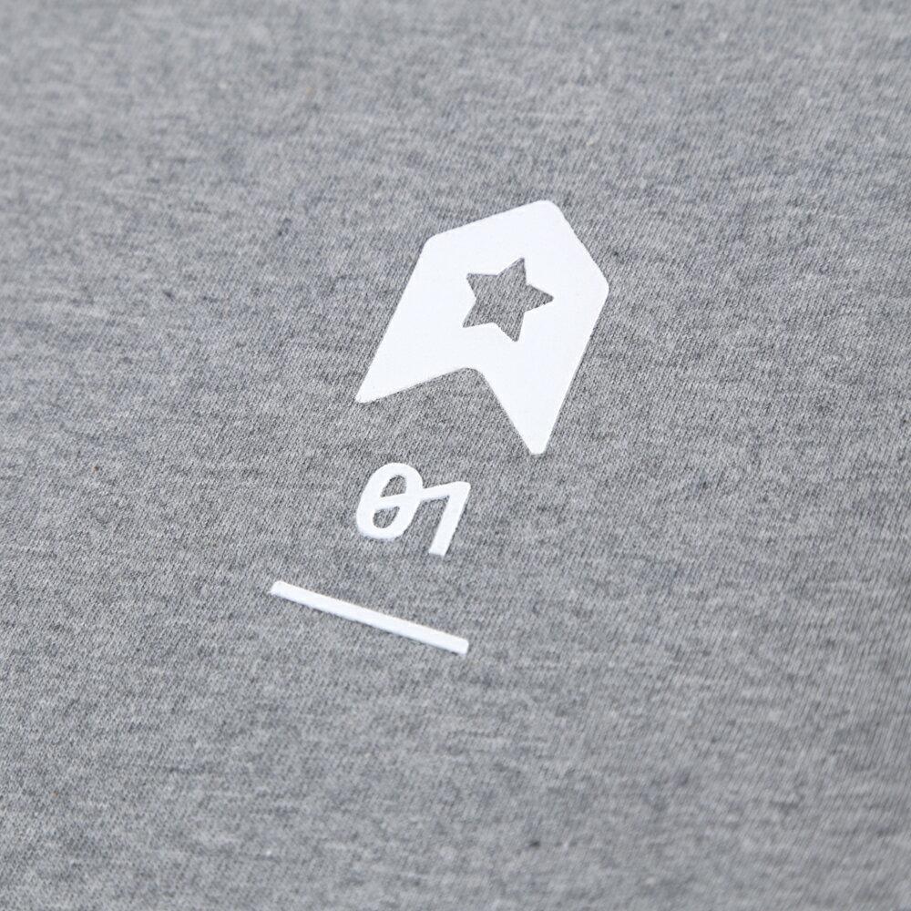 插畫T/發射!高品質棉T系列(白/麻灰/黑色款) 8
