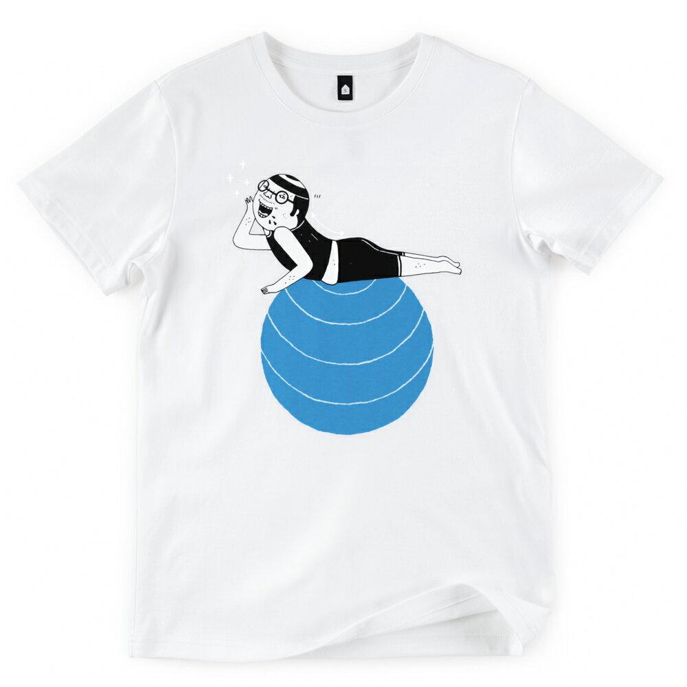 插畫T/怪北北!白色款印花T恤 0