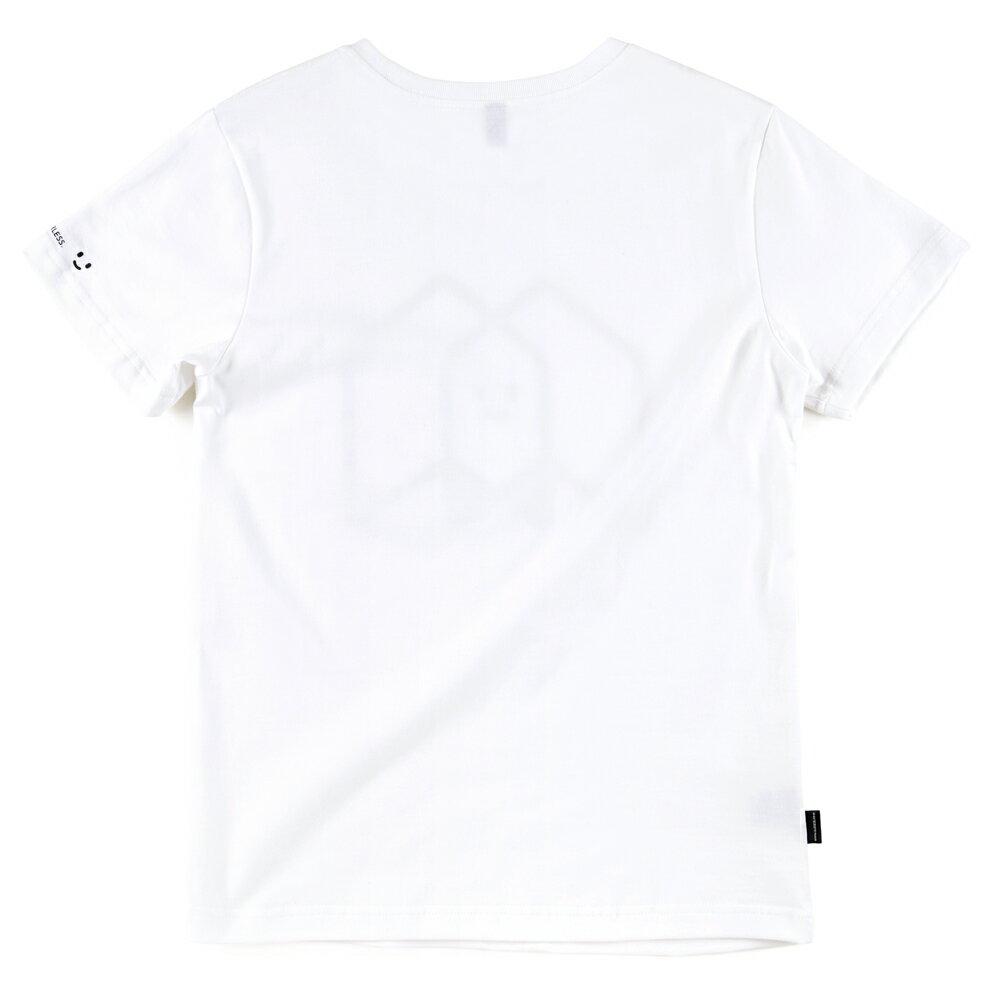 插畫T/一起!白色款印花T恤 1