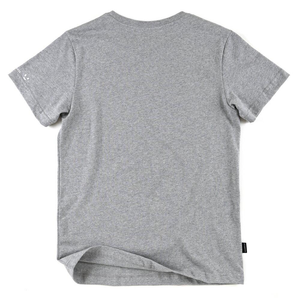 插畫T/一起!麻花灰色款印花T恤 1