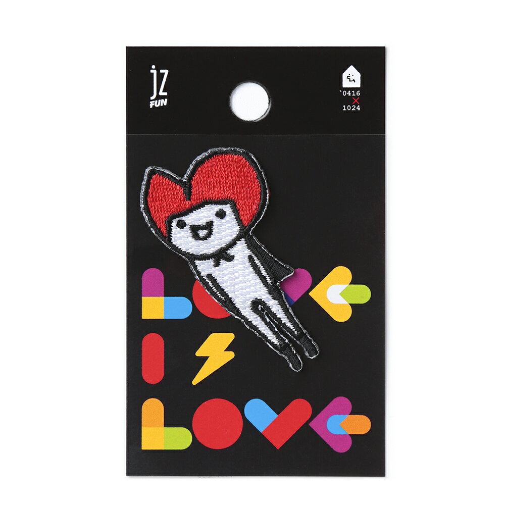 LOVE IS LOVE。刺繡裝飾貼 0