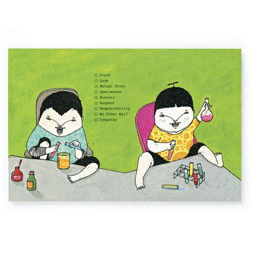 愛的計量/明信片