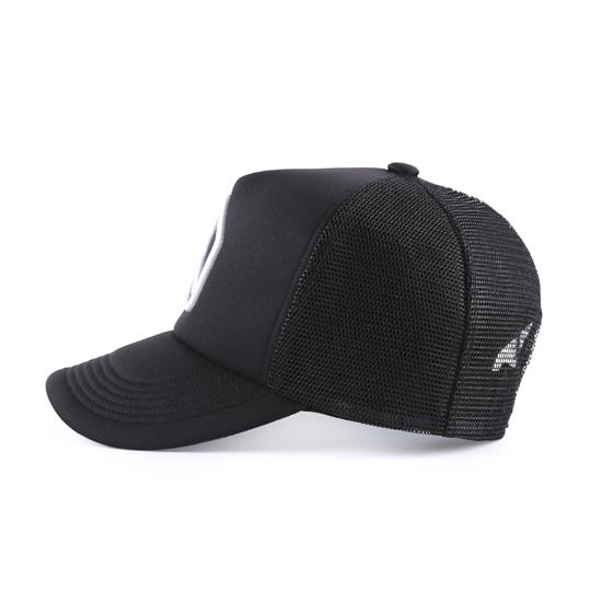 和諧者 / 立體刺繡網帽。黑色款 5