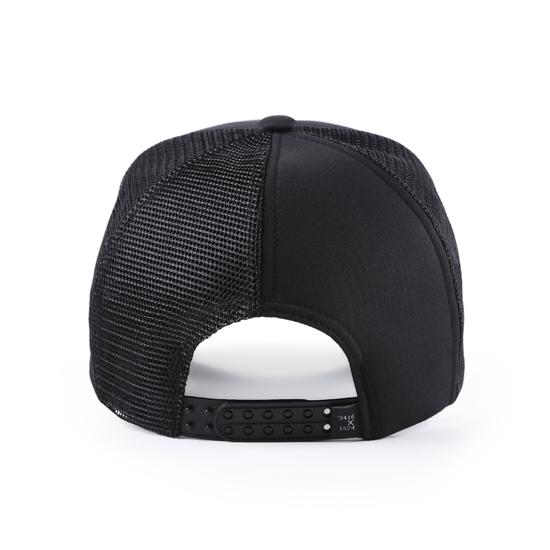 和諧者 / 立體刺繡網帽。黑色款 6