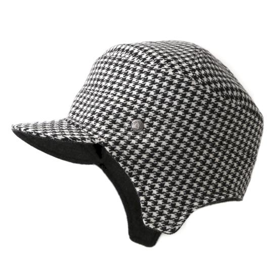 飛行帽/經典千鳥格文(可雙面戴) 0