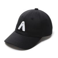 有我在!立體繡復古棒球帽/黑色款 0