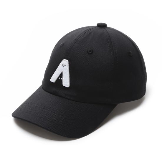 0416X1024:有我在!立體繡復古棒球帽/黑色款