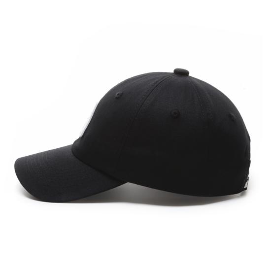 有我在!立體繡復古棒球帽/黑色款 1