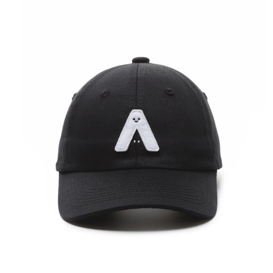 有我在!立體繡復古棒球帽/黑色款 3