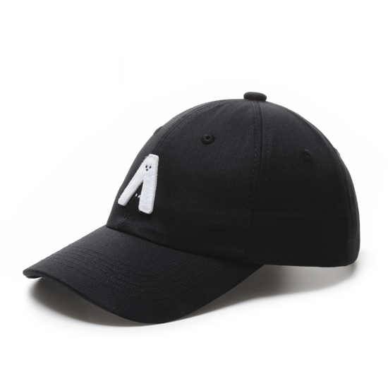 有我在!立體繡復古棒球帽/黑色款 4