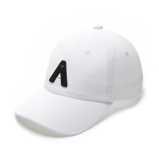 有我在!立體繡復古棒球帽/白色款 0