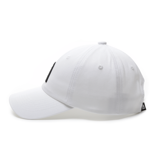 有我在!立體繡復古棒球帽/白色款 1