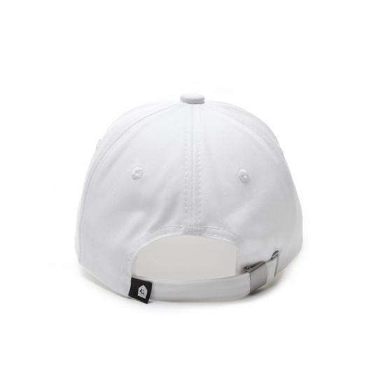 有我在!立體繡復古棒球帽/白色款 2