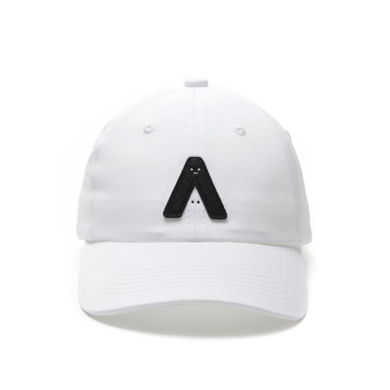 有我在!立體繡復古棒球帽/白色款 3