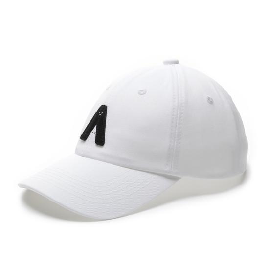 有我在!立體繡復古棒球帽/白色款 4