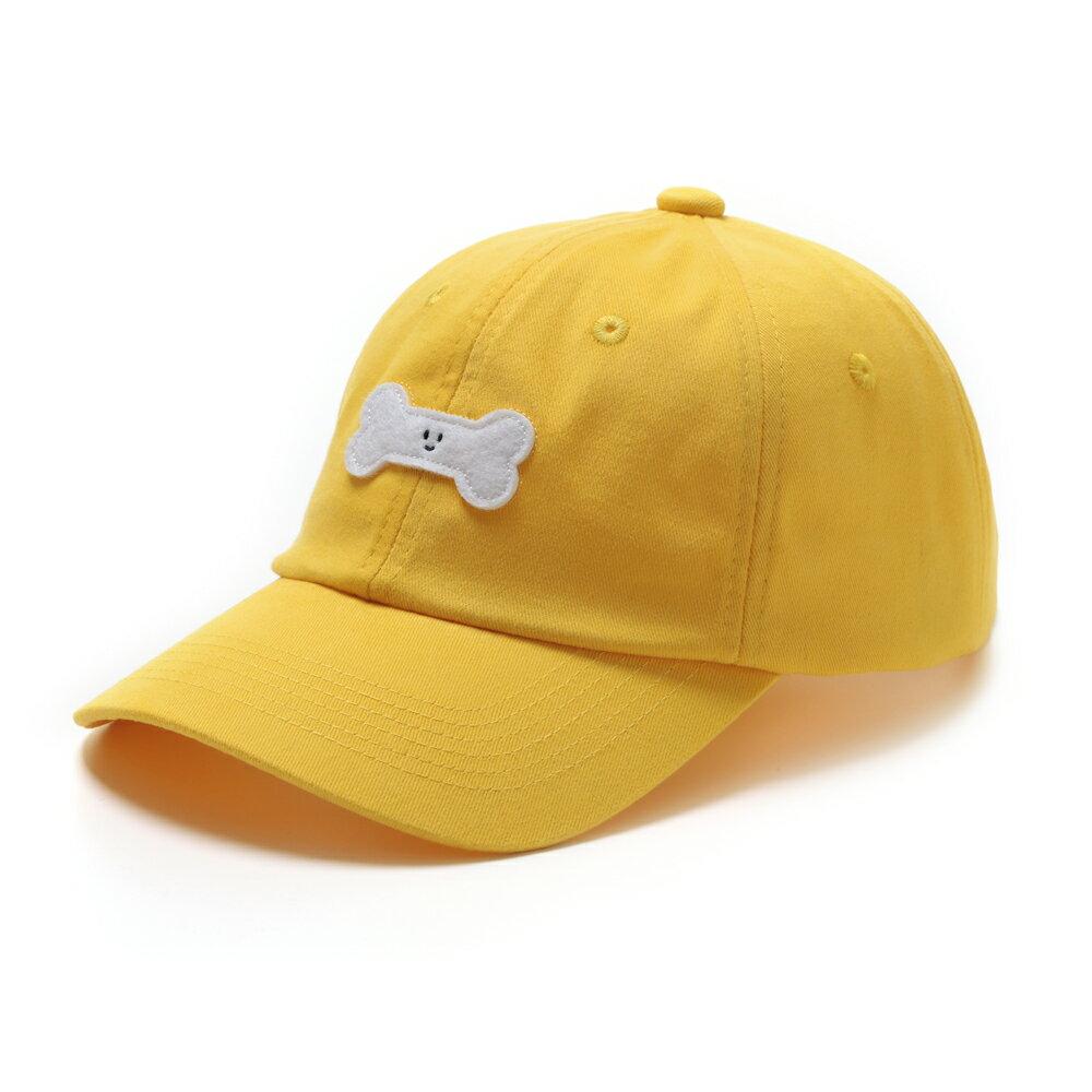 GO!立體繡復古棒球帽/黃色款 0