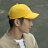 GO!立體繡復古棒球帽/黃色款 2