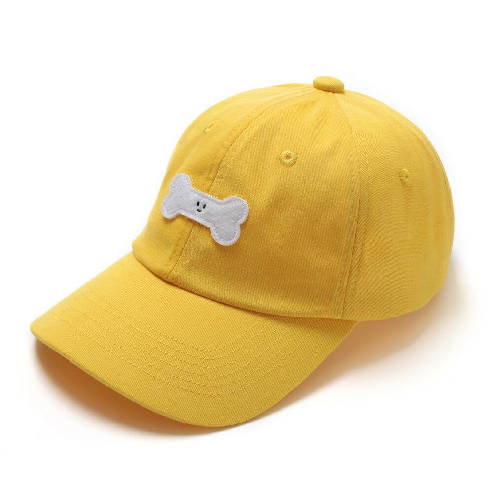 GO!立體繡復古棒球帽/黃色款 3