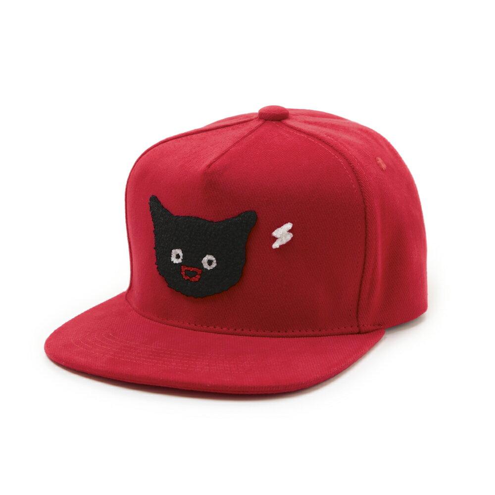 貓貓想電你-棒球帽-紅/藍二款 2