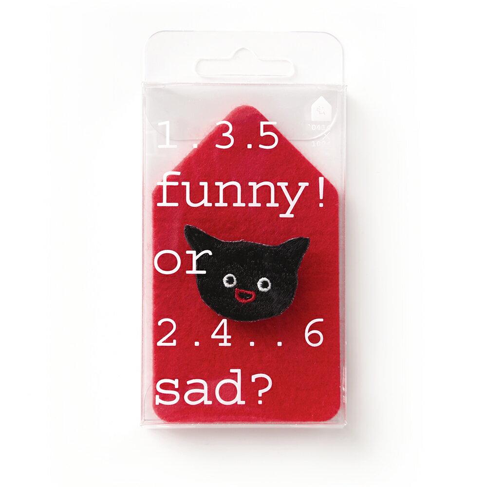 貓貓想電你/繡花別針 0