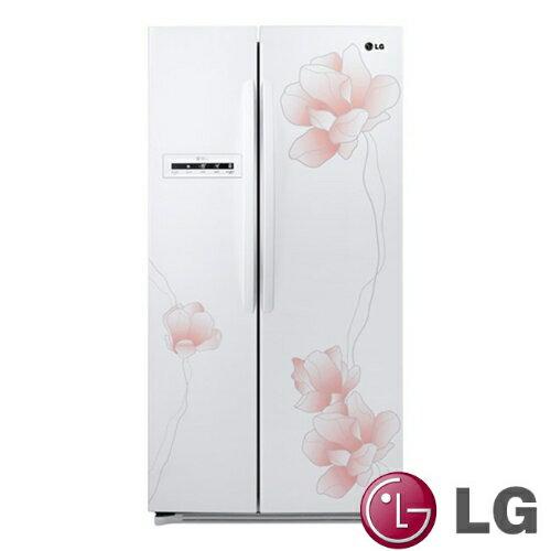 《特促可議價》LG樂金638L花之舞系列對開冰箱-花漾白【GR-BL65M】