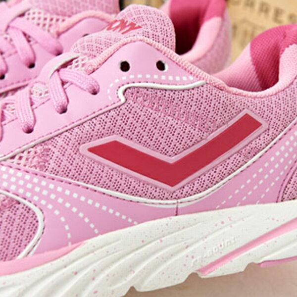 《限時特價799元》Shoestw【61W1ST67PK】PONY 慢跑鞋 網布 透氣 粉紅 女生 1