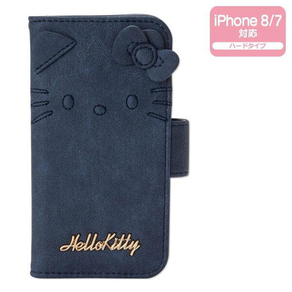 【真愛日本】18071600010印花牛仔風I78手機殼-KT藍凱蒂貓kitty手機殼i7i8手機保護套