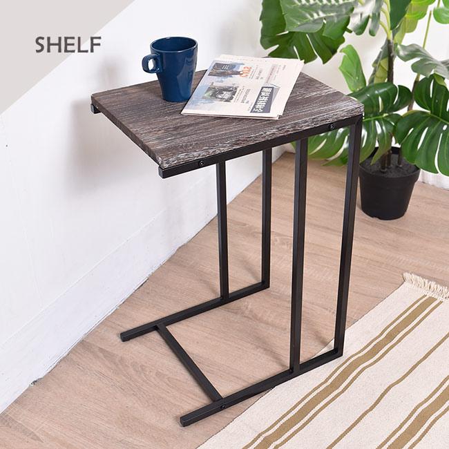 凱堡 桐木邊桌 實木邊桌 仿舊系列 小茶几沙發邊桌【H05070】 2