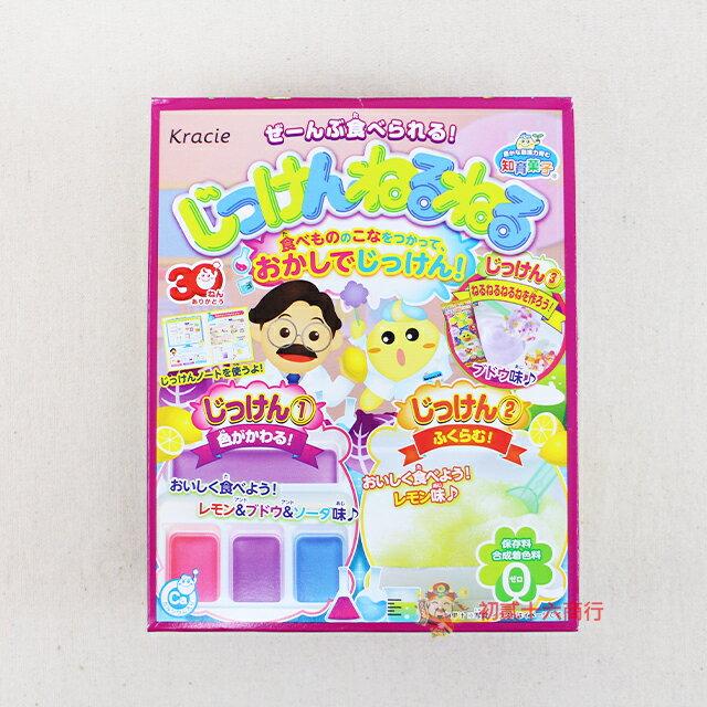 【0216零食會社】Kracie_創意DIY三色實驗軟糖44g