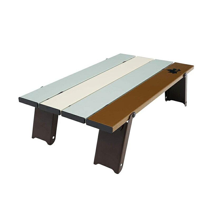 【露營趣】新店桃園 LOGOS LG73180046 Life復古彩色膳食桌 小捲桌 野餐桌 迷你桌 休閒桌 茶几 野炊 露營