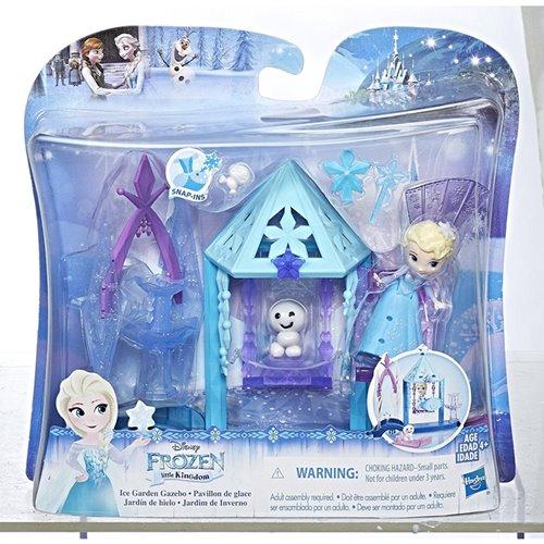 《Disney迪士尼》冰雪奇緣迷你公主及房屋-艾莎